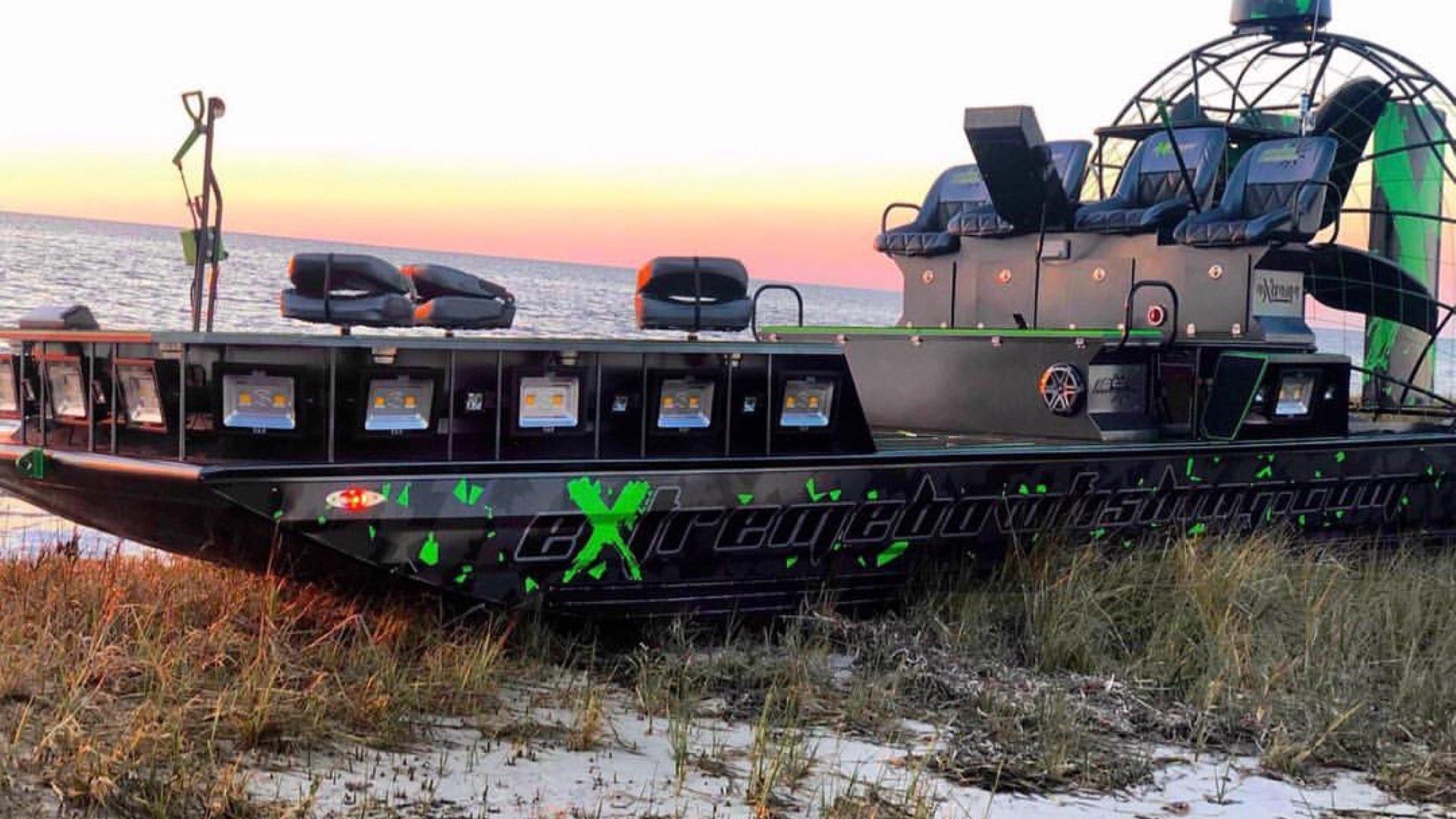 23×9 900hp Custom Built Pb Airboat!